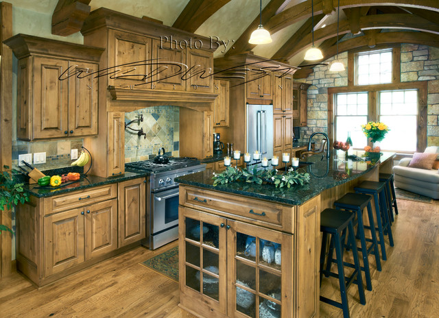 West Bend/Big Cedar Lake whole house remodel - Traditional - Kitchen ...