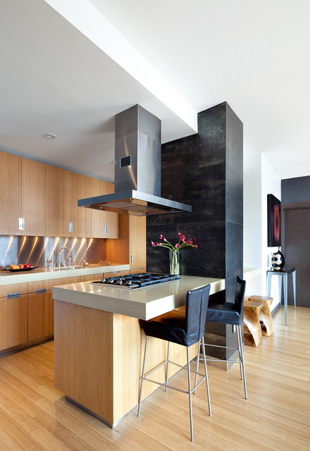 West chelsea modern kitchen new york by noha for Modern kitchen design new york