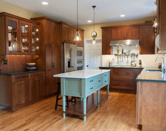 West Chester Kitchen featuring Dura Supreme Craftsman Panel Door craftsman-kitchen