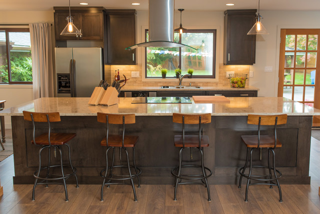 West Coast Industrial Renovation Industrial Kitchen Other Metro By Colleen Mcclure Designs