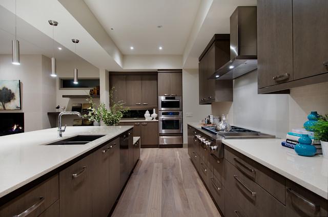 West Coast Modern Home Modern Kitchen Calgary By