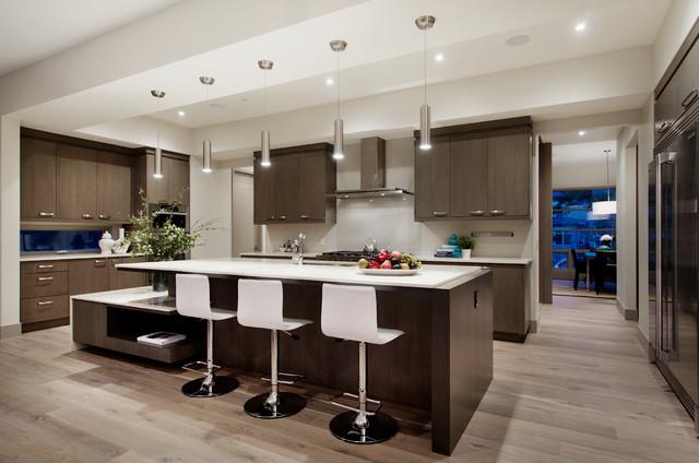 west coast modern home  modern  küche  calgary  von