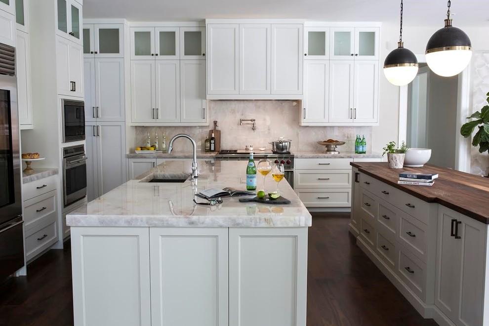 West Des Moines Remodel - Transitional - Kitchen - Other ...