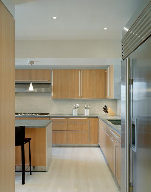 West End Avenue Apartment Renovation contemporary-kitchen