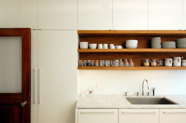 West End Avenue Apartment contemporary-kitchen