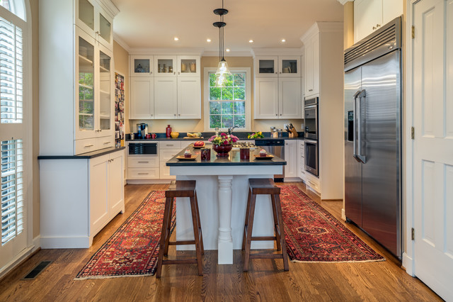 West End Kitchen Transitional Kitchen Nashville By Hermitage Kitchen Design Gallery