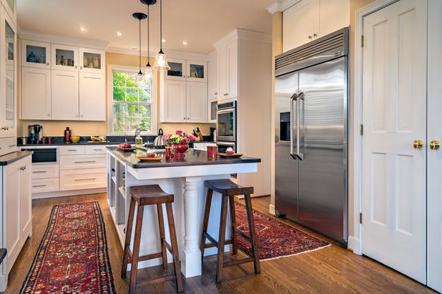 West End Kitchen Transitional Kitchen Nashville By Hermitage Kitchen Design Gallery