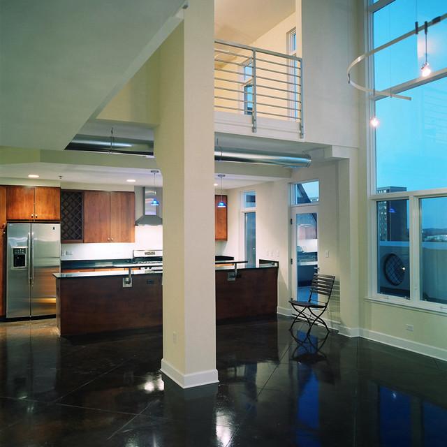 West End Lofts modern-kitchen