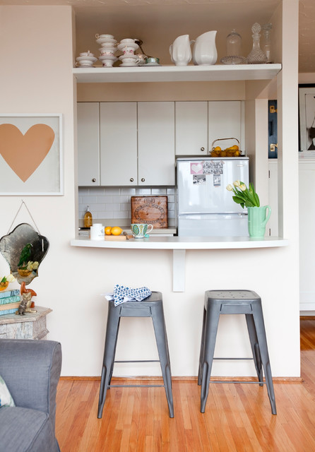 West End Studio Eclectic Kitchen Vancouver By The