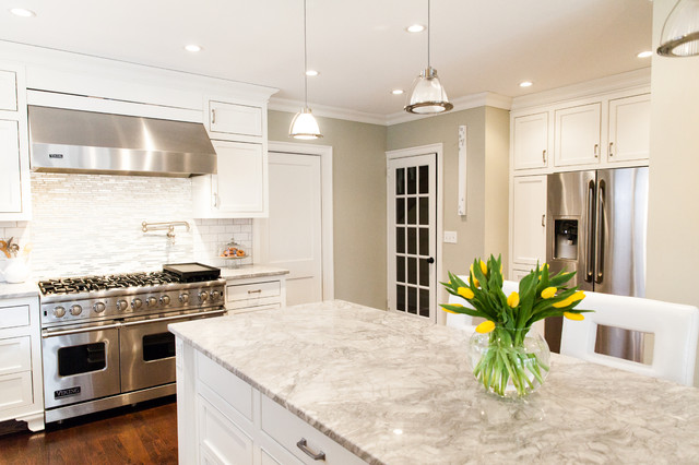 West Hartford Kitchen Remodel Transitional Kitchen New York By Zel Inc