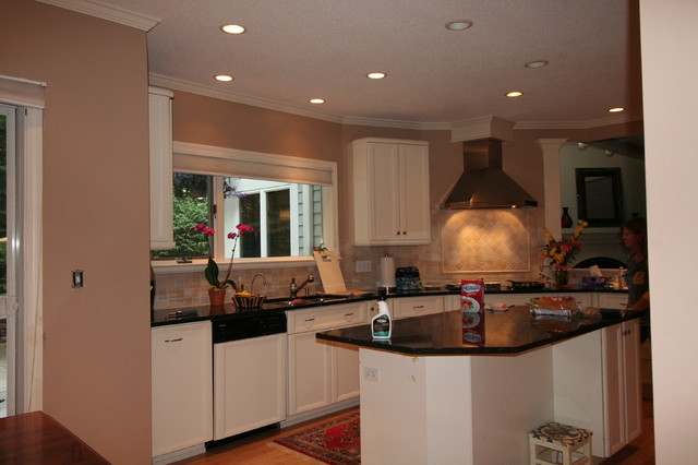 West Hartford painting contractor transitional-kitchen