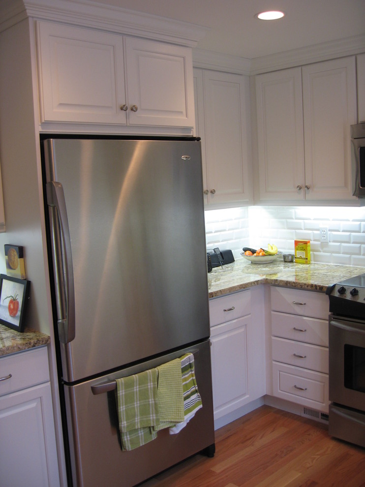 West Hartford Small But Functional Kitchen - Traditional ...