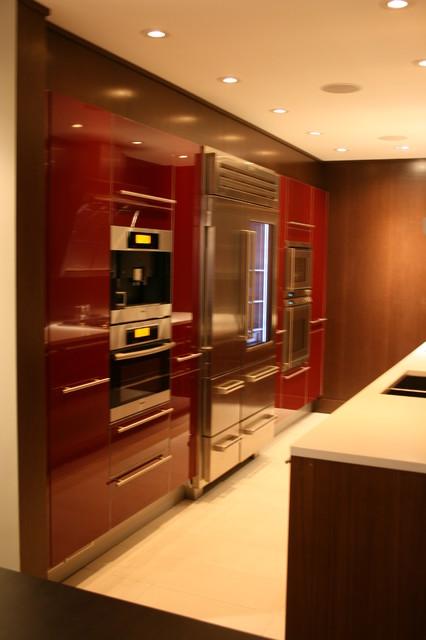 West Hillherst Kichen Design, Calgary - Modern - Kitchen - calgary - by Oris Design Studio