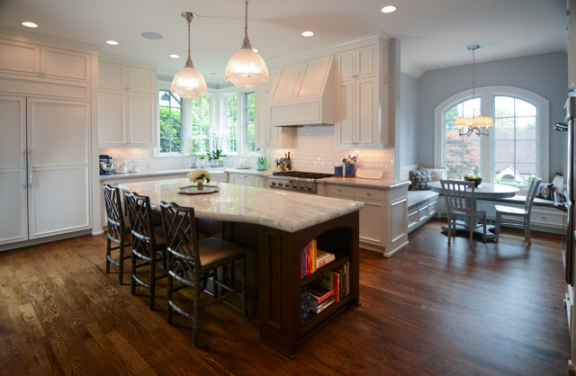 West Hills Private Residence Traditional Kitchen