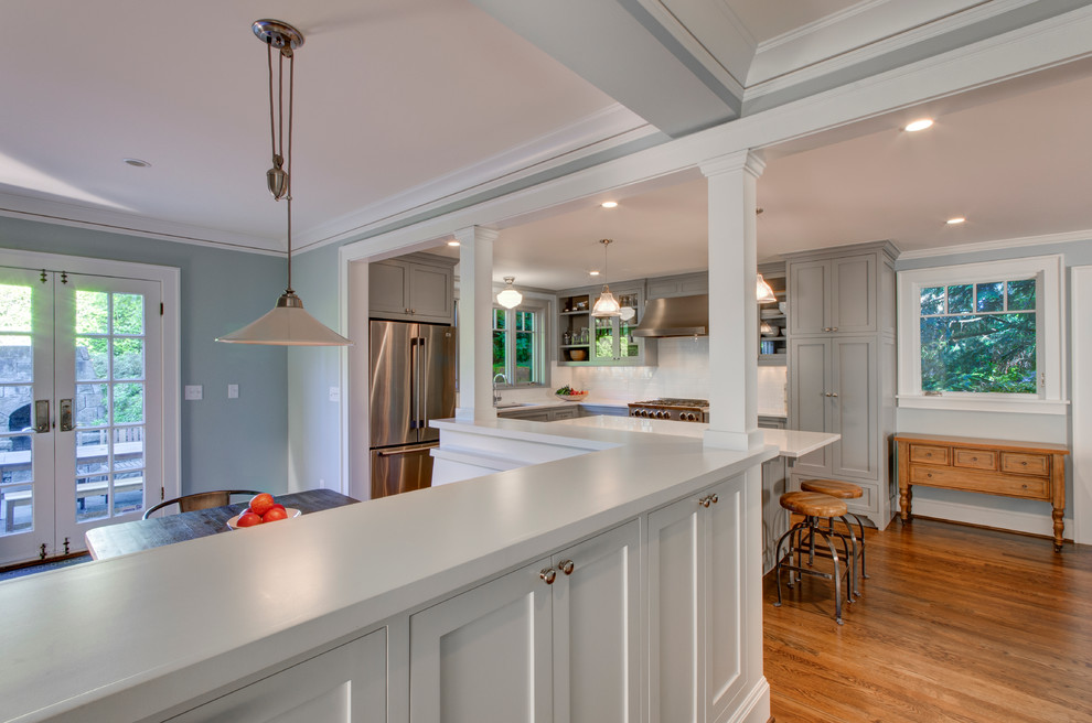 West Hills Traditional - Traditional - Kitchen - Portland ...