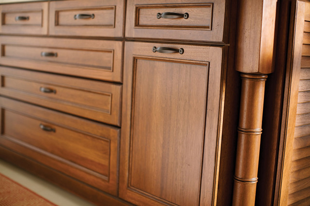 West Indies - Tropical - Kitchen - phoenix - by Dura Supreme Cabinetry