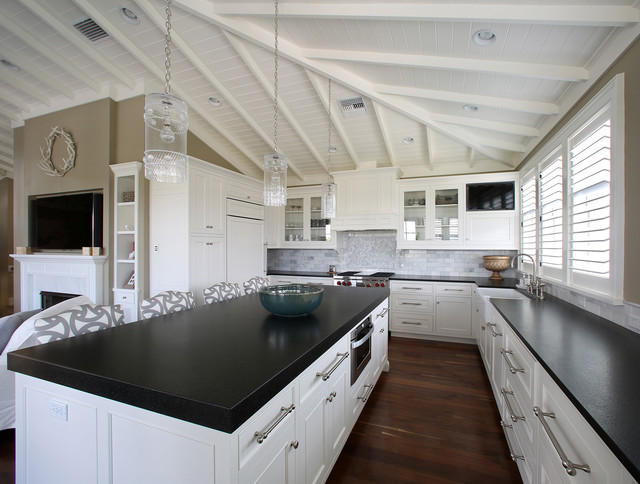 West Indies Residence tropical-kitchen