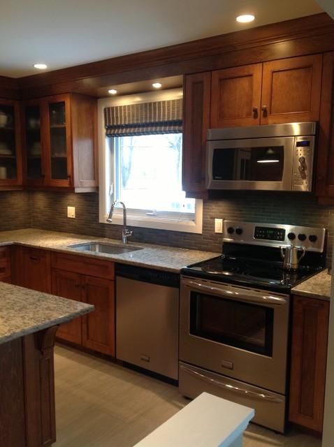 West Island Kitchen contemporary-kitchen
