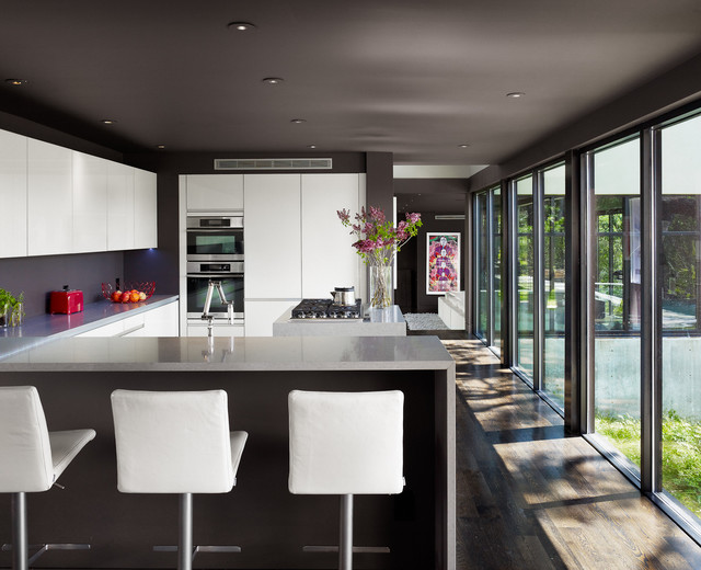 West Lake Hills Residence contemporary-kitchen