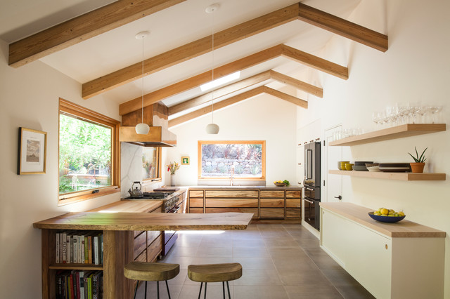 Kitchen of the Week: Organic Modern Style for a Chef and a ...