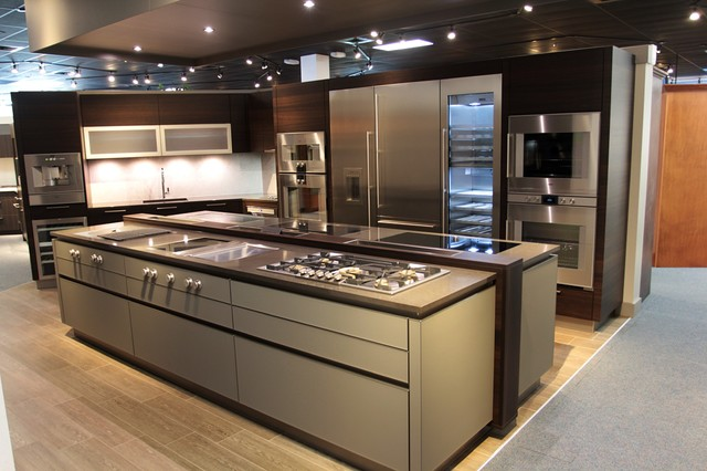 West Palm Beach Gaggenau Appliances Pro Kitchen Moderne - Cuisine gaggenau