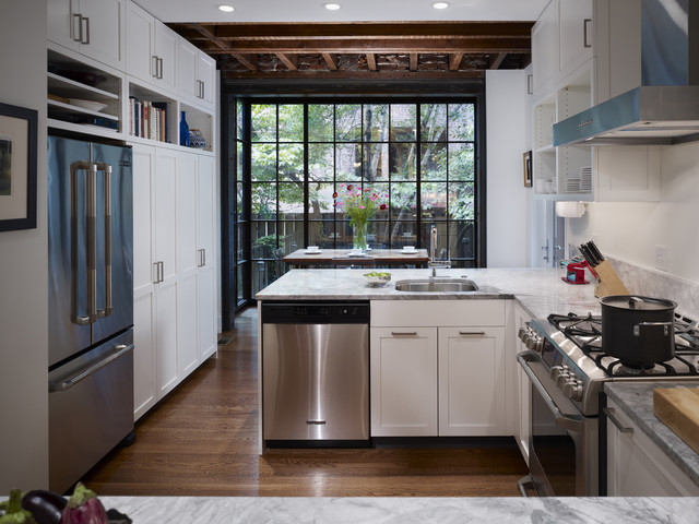 West Philadelphia Kitchen - Contemporary - Kitchen - Philadelphia - by Hanson Fine Building