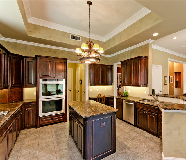 West Plano Kitchen - Traditional - Kitchen - Dallas - by Marvelous ...
