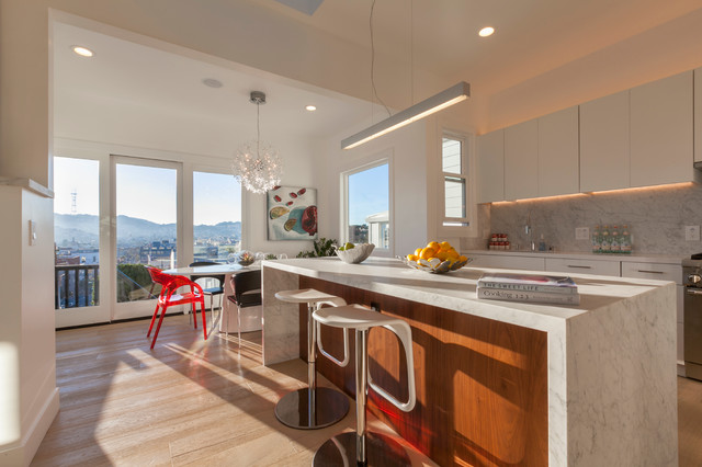 West Potrero Duplex Contemporary Kitchen San Francisco By Knock Architecture And Design