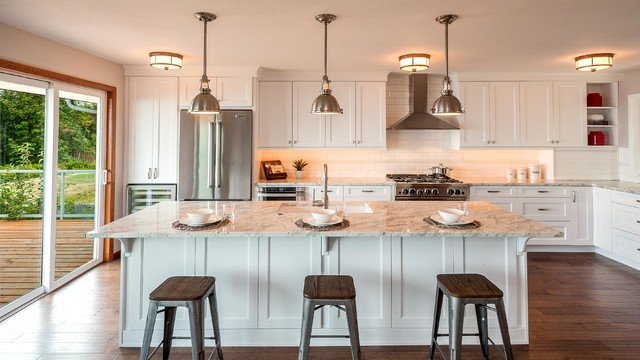 West Seattle Classic Kitchen Traditional Kitchen Seattle By Candace N