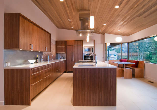 Kitchen Bath Remodel Gives Mid Century Home Modern Updates: West Seattle Remodel