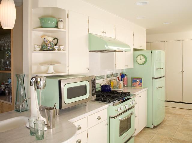 West Seattle Retro Kitchen エクレクティック-キッチン