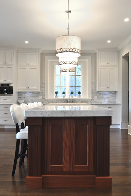 West Side Custom Home traditional kitchen