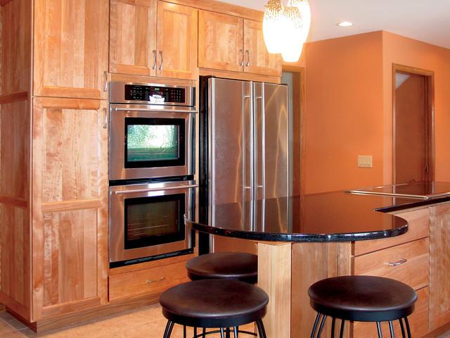 West Side Madison, WI Remodel transitional-kitchen