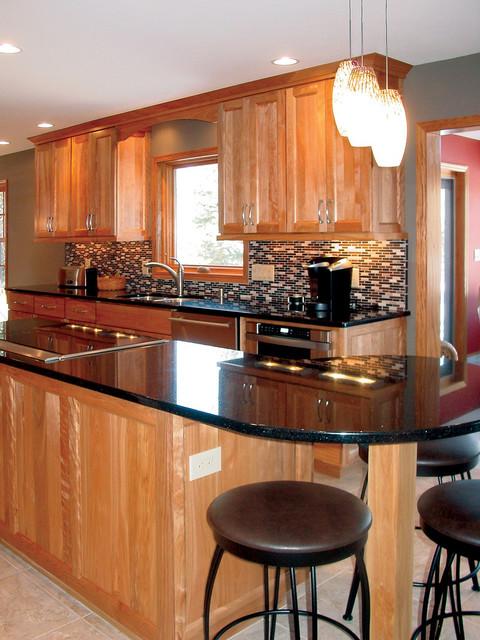 west side madison wi remodel transitional kitchen
