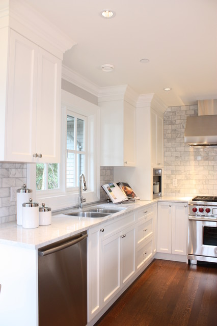 West side renovation traditional-kitchen