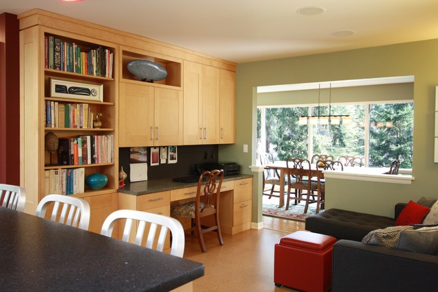 West Slope Remodel contemporary-kitchen
