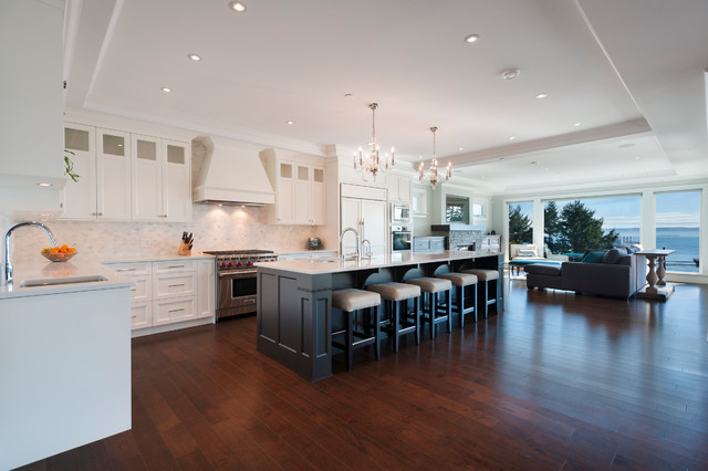 West Vancouver Horizon Transitional Kitchen Other Metro By Sarah Gallop Design Inc