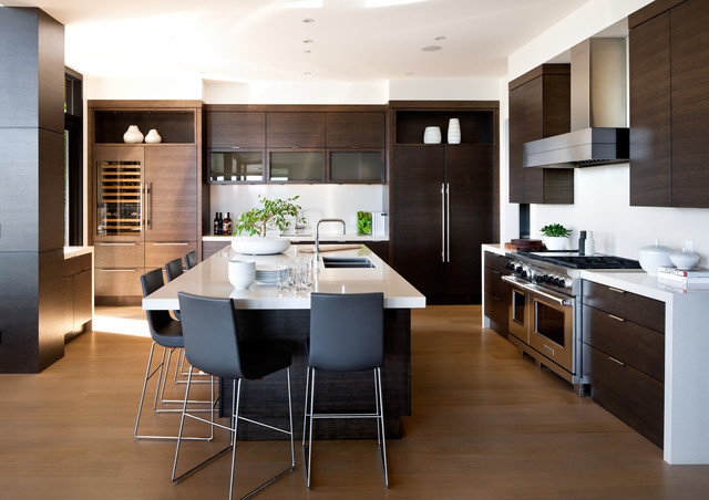 West Vancouver Residence contemporary-kitchen