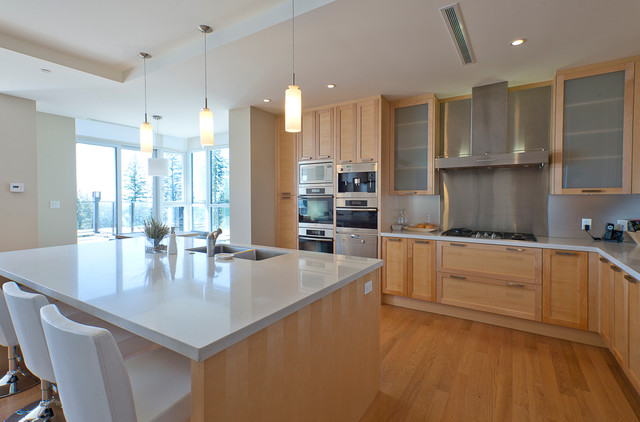 West vancouver townhouse contemporary kitchen for Kitchen ideas vancouver