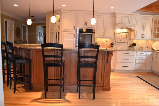 West View Road Kitchen Bedford Kitchen Boston by