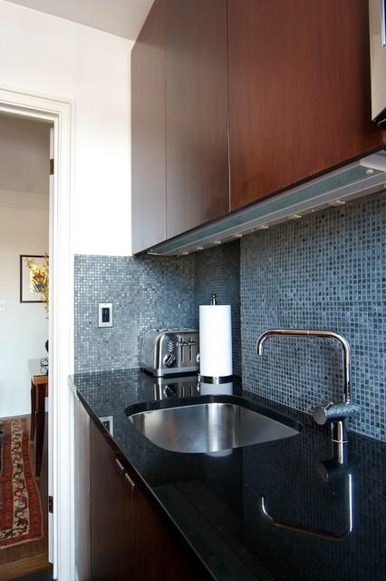 West Village Apartment modern-kitchen