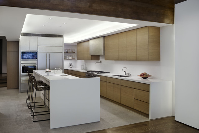 West village townhouse contemporary kitchen new york by david howell design Kitchen design ideas for townhouse