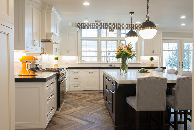 Westchester Classic Renovation Contemporary Kitchen New York By Heather Ryder Design