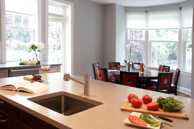 Westchester County Kitchen Of The Year Transitional Kitchen New York By East Hill Cabinetry