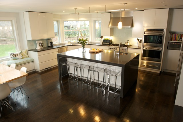 Westchester Home Addition Renovation Contemporary Kitchen New York By Daniel Contelmo