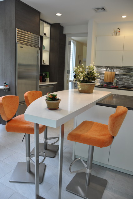 Westchester NY contemporary-kitchen