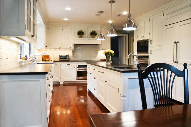Westchester Renovation Traditional Kitchen New York By Daniel Contelmo Architects