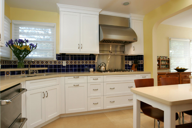 Westchester Traditional Kitchen Remodel Of Cook 39 S Kitchen Traditional Kitchen Other Metro