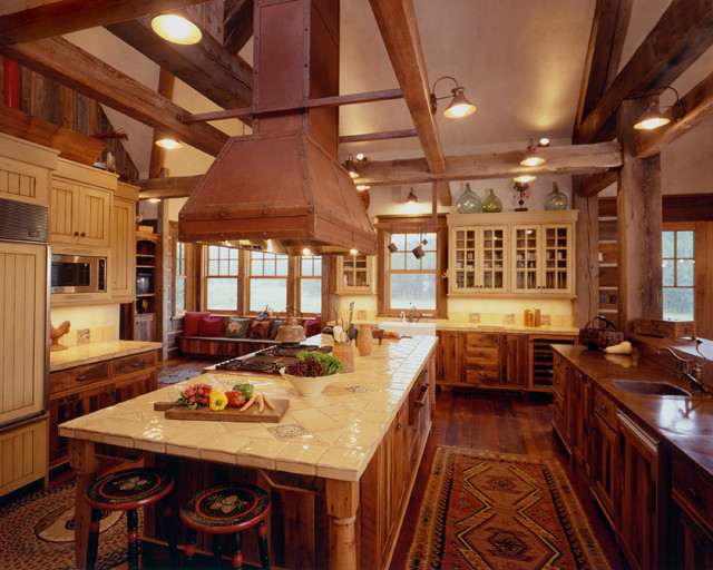 Western Homestead Ranch Kitchen Rustic Kitchen Denver By Lynne