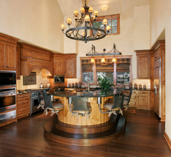 Western kitchen traditional kitchen for Western kitchen ideas